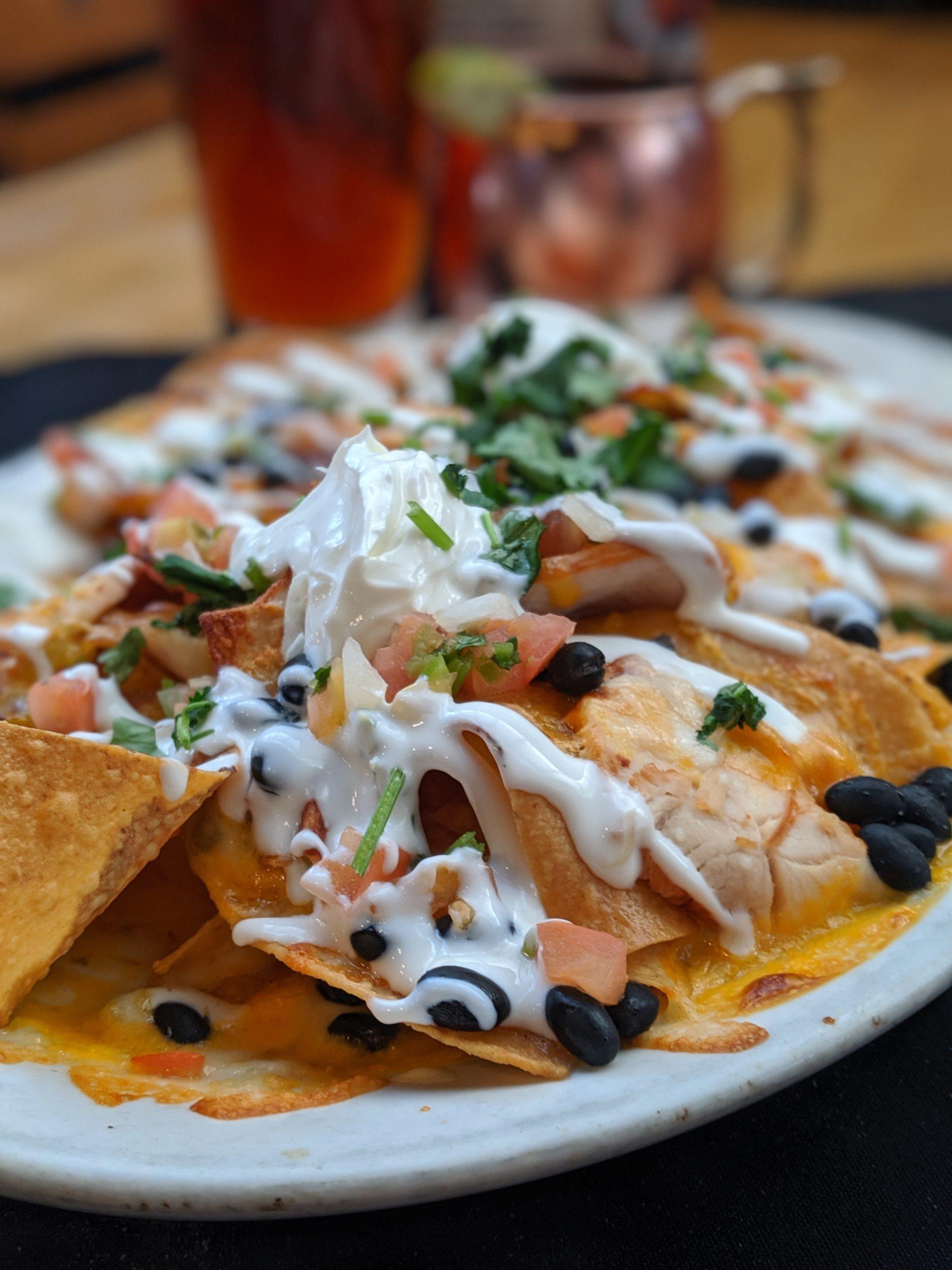 serving best nachos