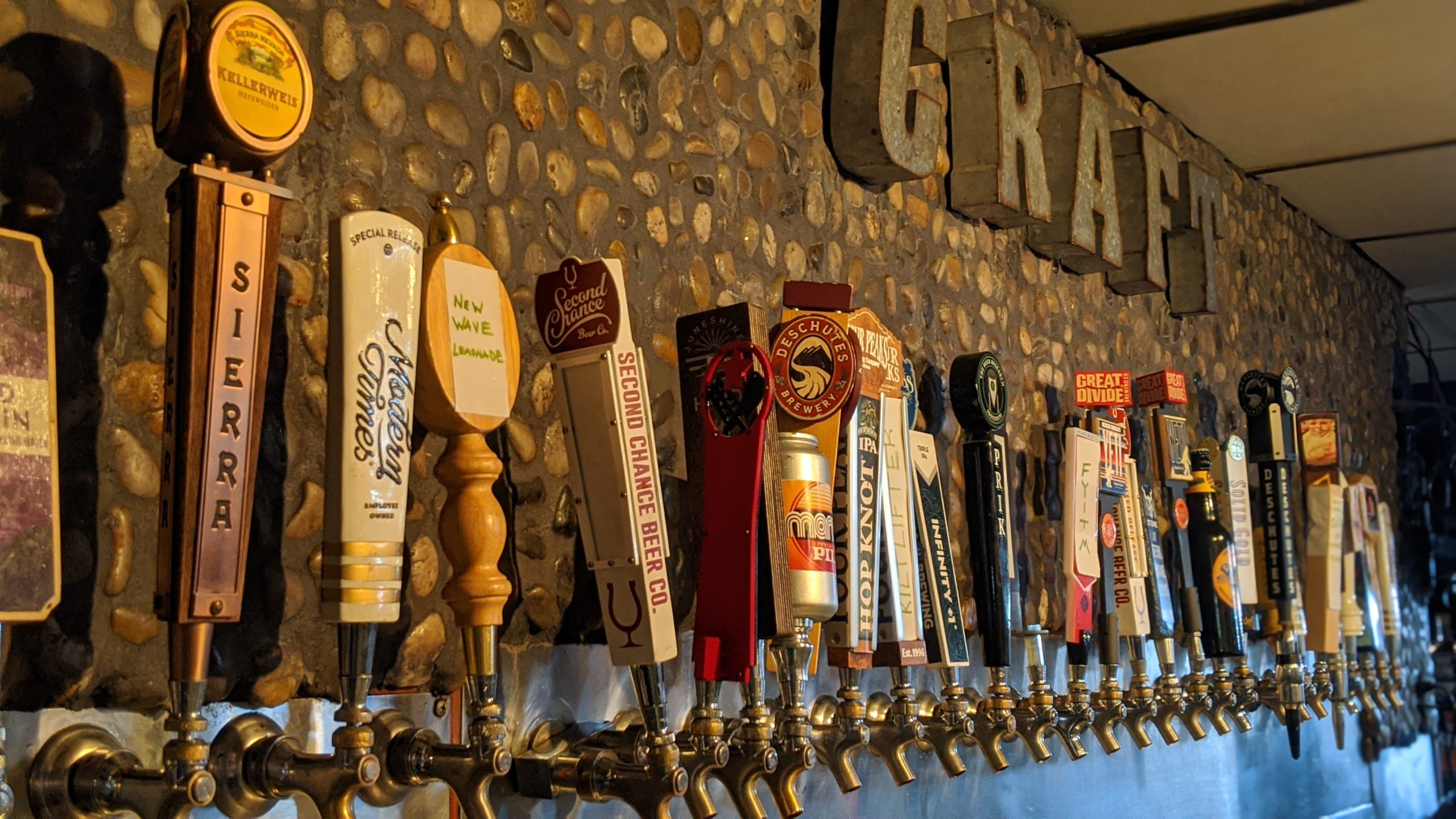 AZ Craft Beer | Tempe Bar Happy Hour Online Food Delivery | Restaurant Near you Arizonavariety Of Craft Beer Tap Handles